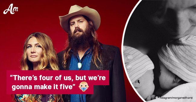 Chris Stapleton's wife is pregnant again — just 7 months after giving birth to twins