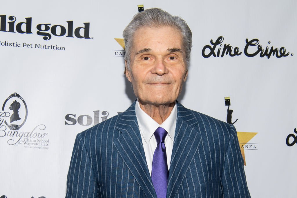 "Fred Willard assiste à la ""CATstravaganza featuring Hamilton's Cats"" le 21 avril 2018 à Hollywood, en Californie. 