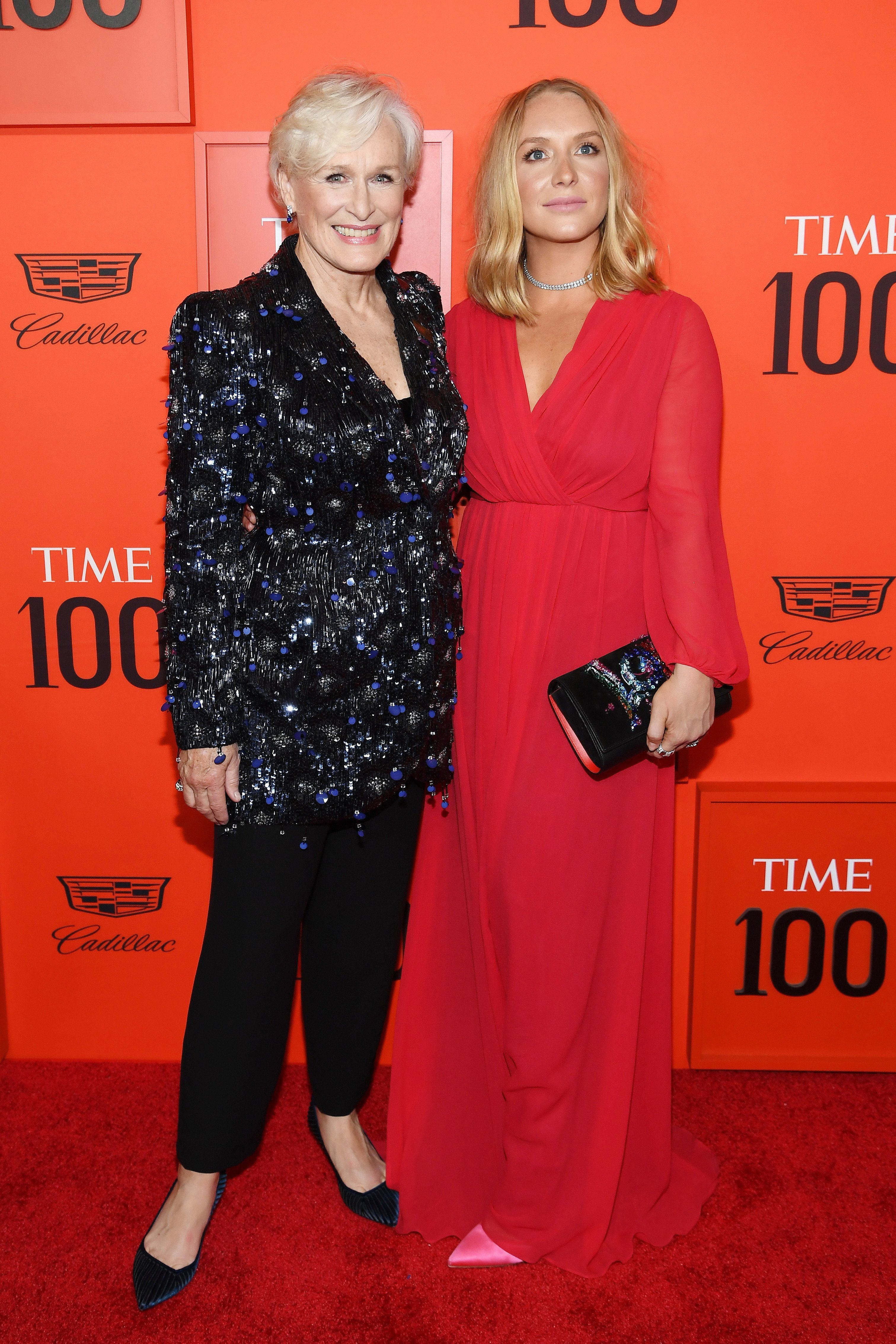 Glenn Close and Annie Starke attend the TIME 100 Gala Red Carpet at Jazz at Lincoln Center   Source: Getty Images