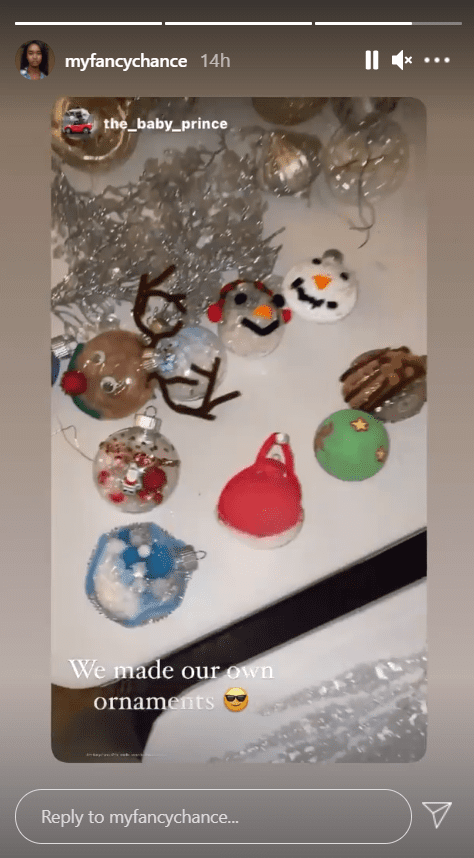 Diddy's daughter Chance Combs shares her Christmas tree decoration on her Instagram | Photo: Instagram/myfancychance
