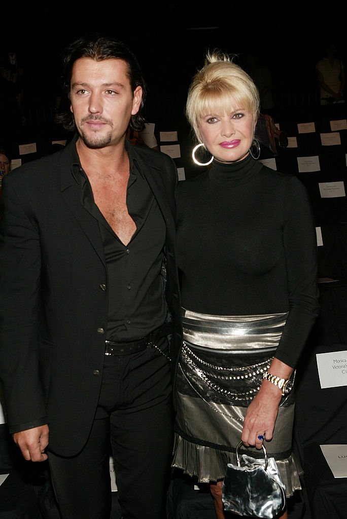 Ivana Trump and boyfriend Rossano Rubicondi attend the Luca Luca Spring/Summer | Photo: Getty Images