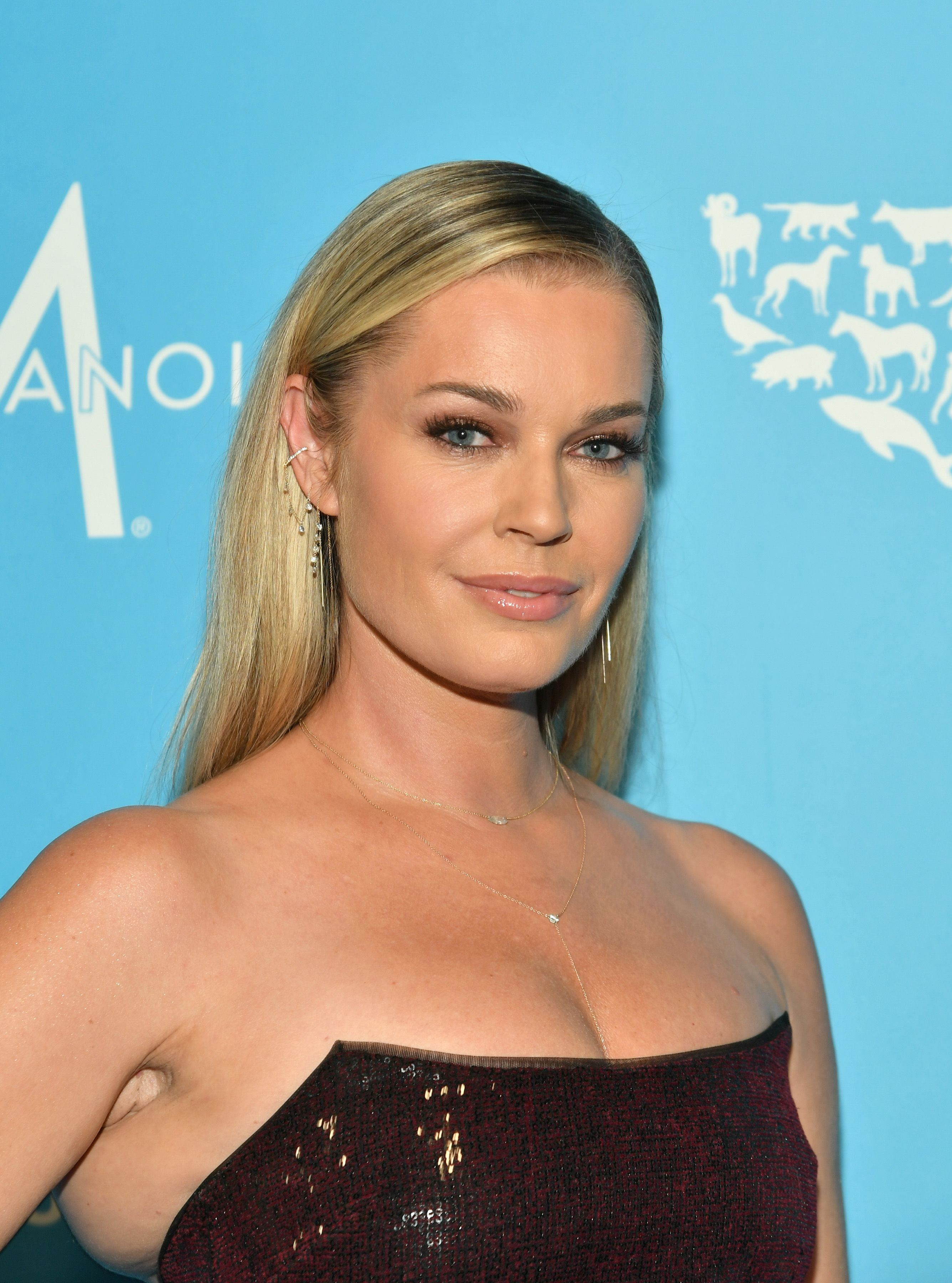 Rebecca Romijn at the Humane Society Of The United States To The Rescue! New York Gala  in 2019 in New York City | Photo: Getty Images