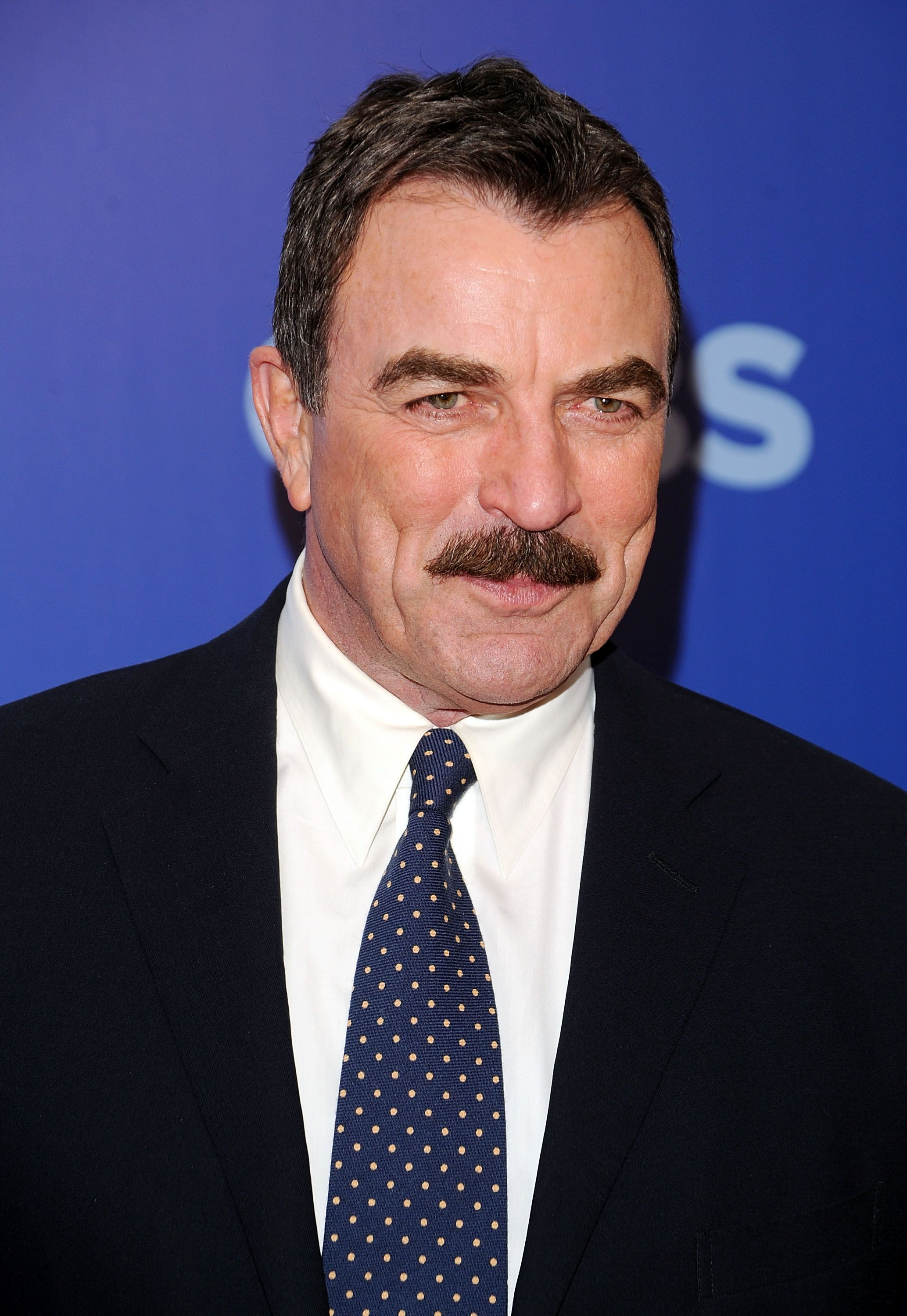Tom Selleck at CBS UpFront at Damrosch Park, Lincoln Center on May 19, 2010, in New York City   Photo: Andrew H. Walker/Getty Images