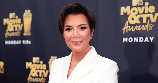 Kris Jenner Stuns in Clingy Green Dress as She Attends Her Daughter Khloe's Birthday