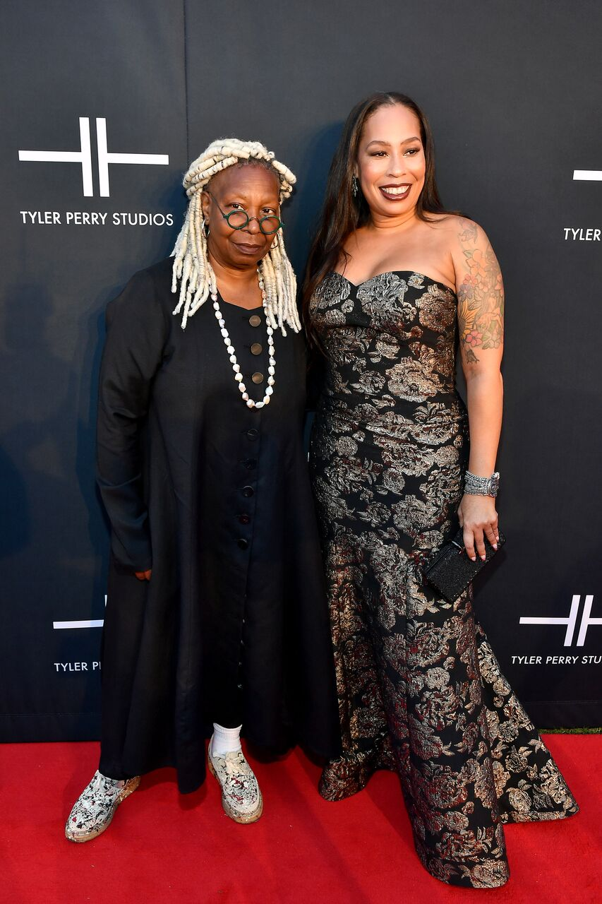 Whoopi Goldberg and Alex Martin attend Tyler Perry Studios grand opening gala. | Source: Getty Images