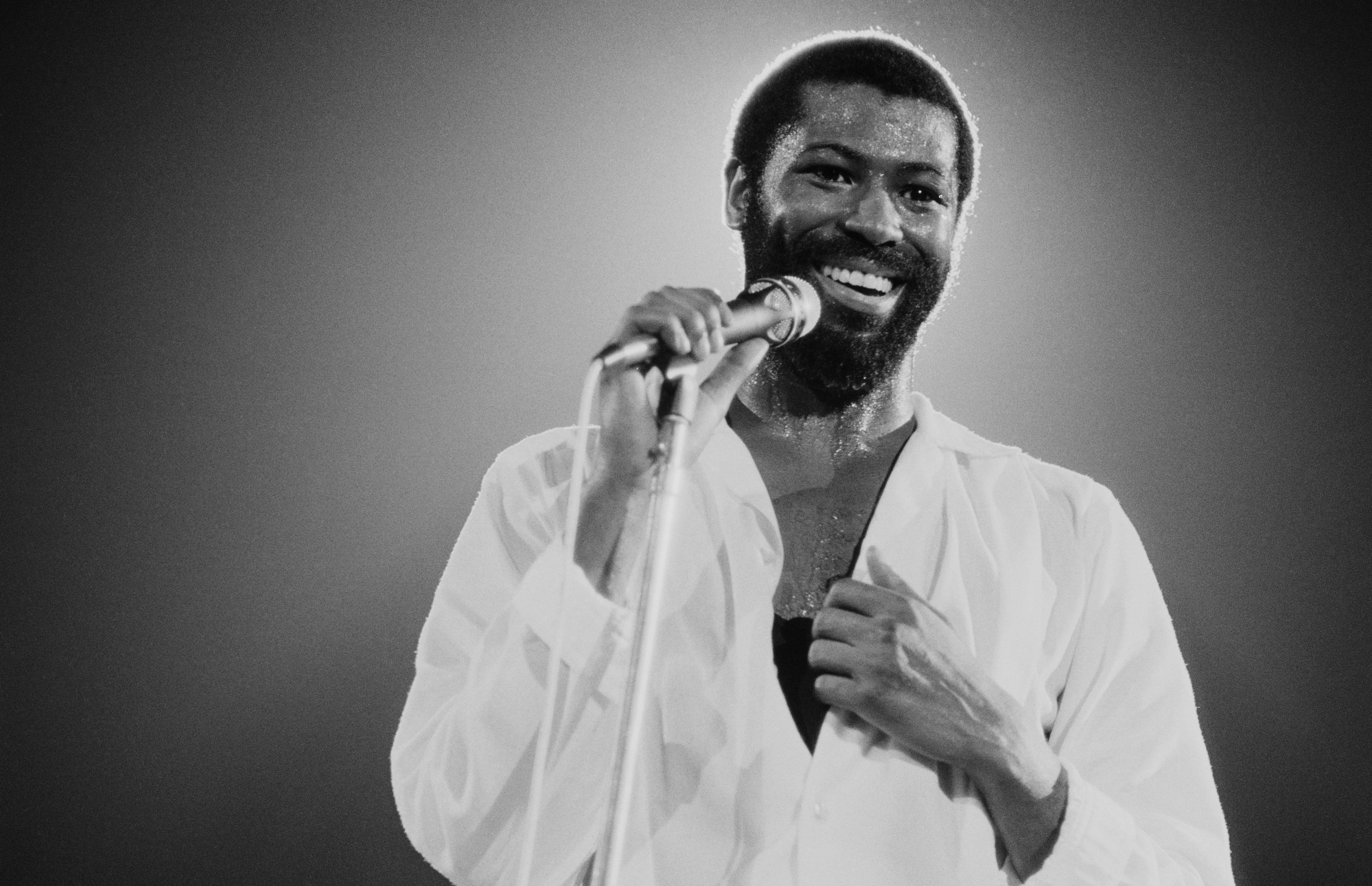 Teddy Pendergrass performing in New York, 1981. | Photo: Getty Images