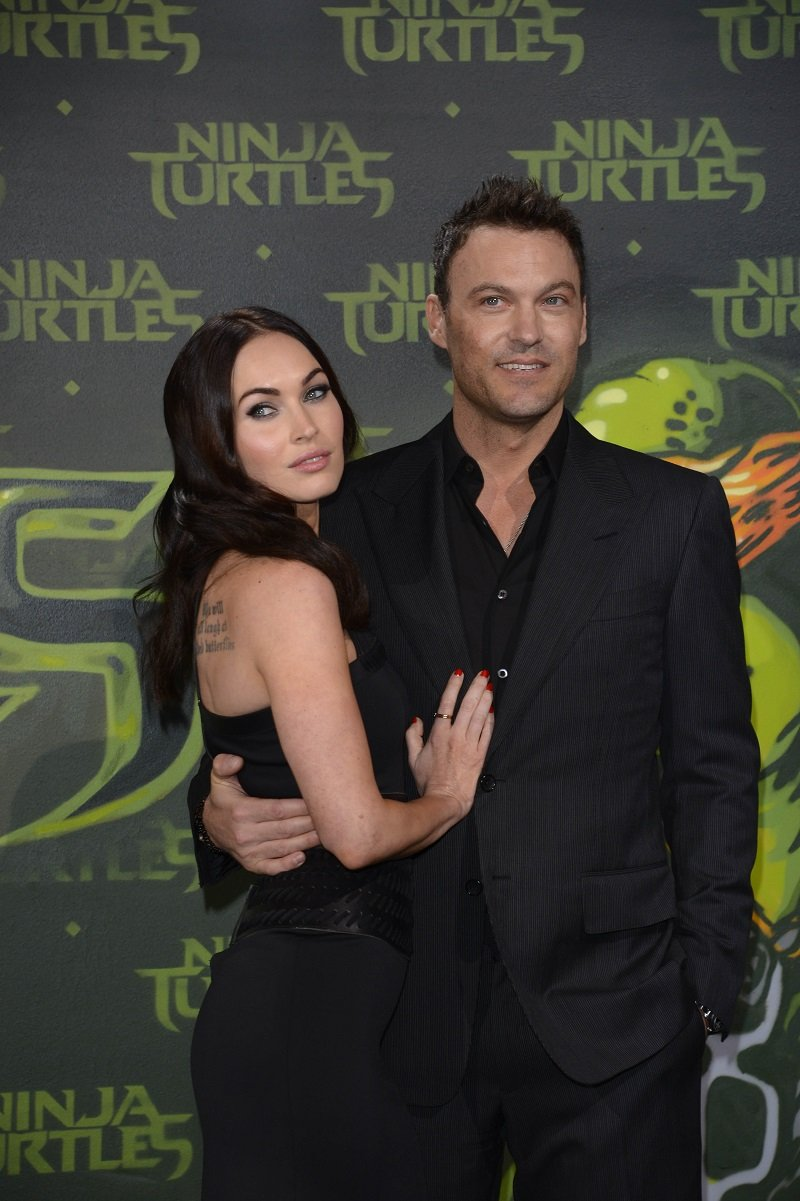 Megan Fox and Brian Austin Green on October 5, 2014 in Berlin, Germany | Photo: Getty Images