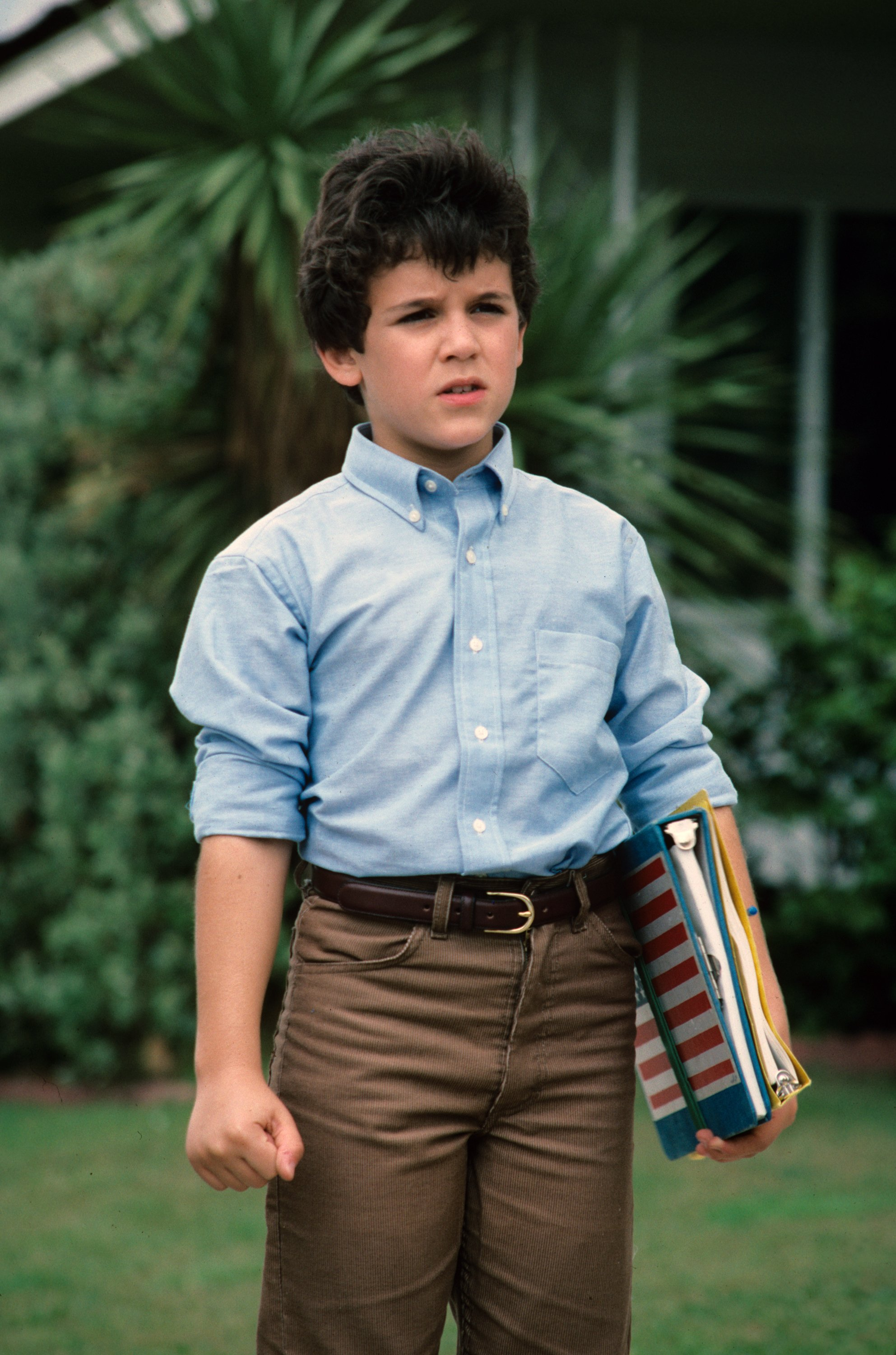 """A young Fred Savage during the pilot of """"The Wonder Years,"""" 1988. 