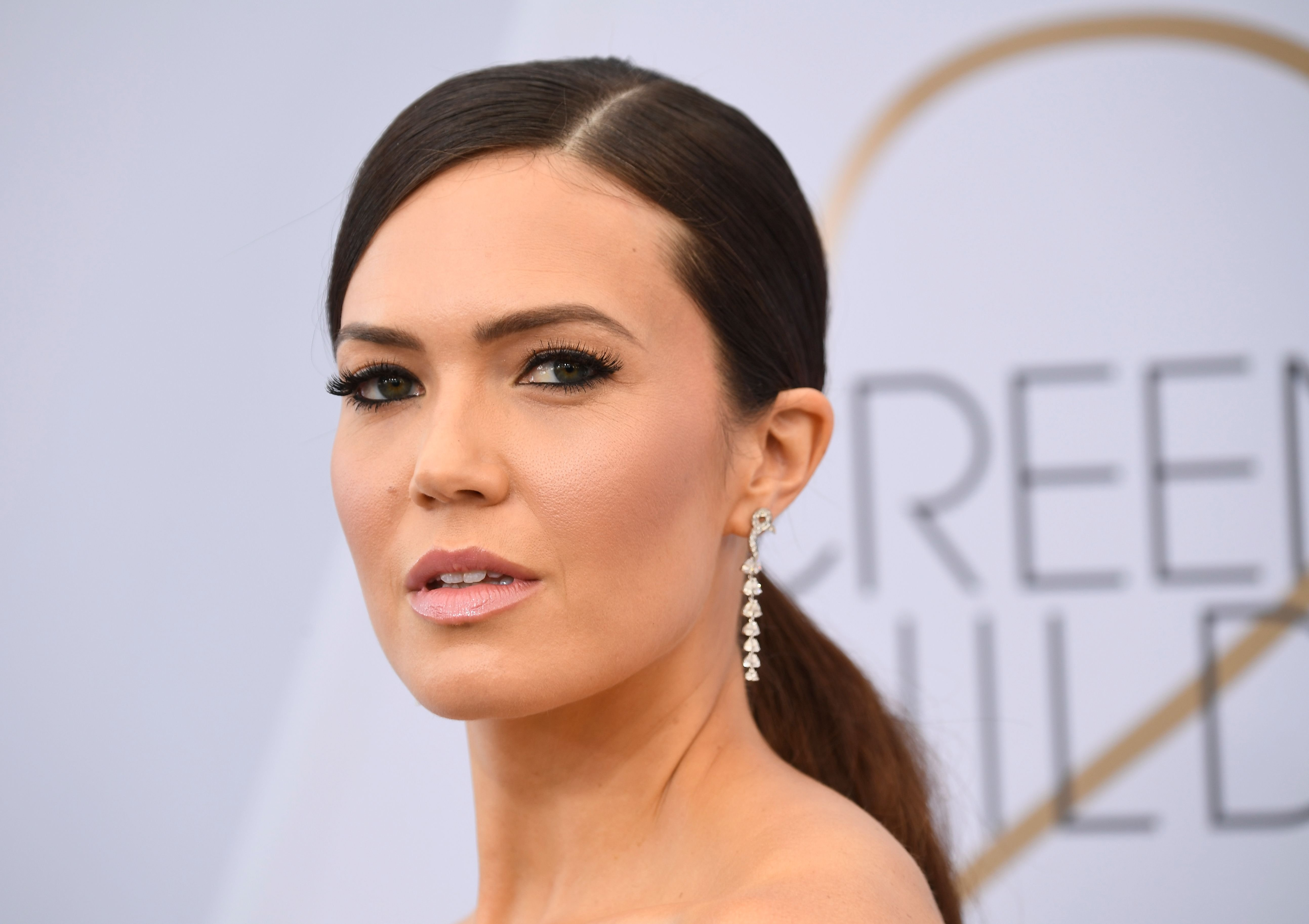 Mandy Moore during the 25th Annual Screen Actors Guild Awards at The Shrine Auditorium on January 27, 2019 in Los Angeles, California. | Source: Getty Images