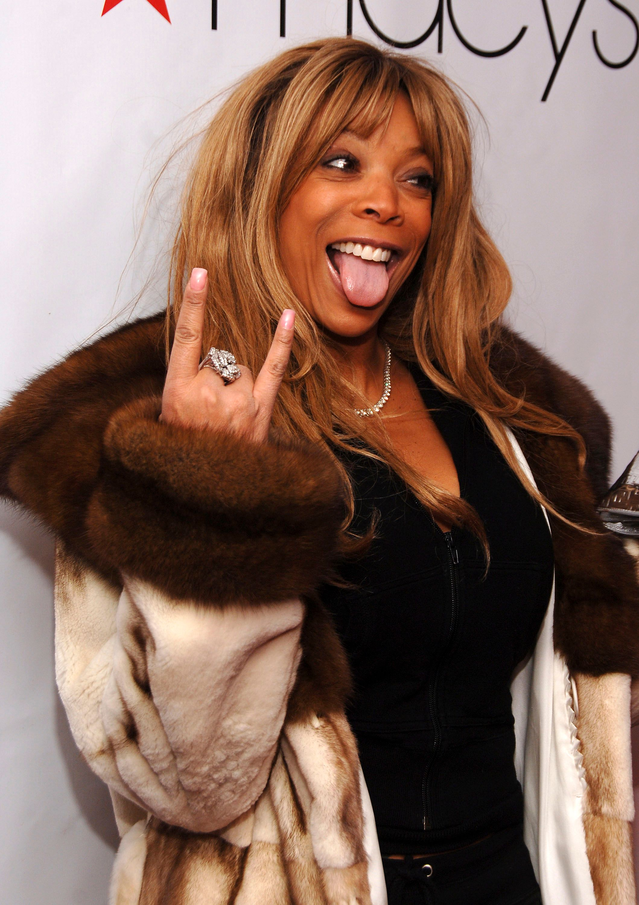 """Wendy Williams at the Macy's """"Kiss & Tell"""" on February 1, 2007 in New York. 