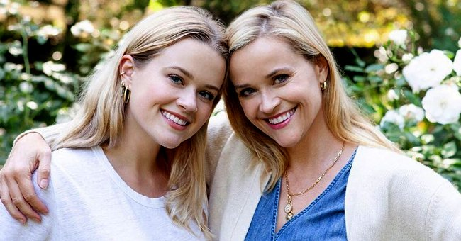 Ava on the left and her mother Reese Witherspoon on the right | Photo: Instagram.com/reesewitherspoon