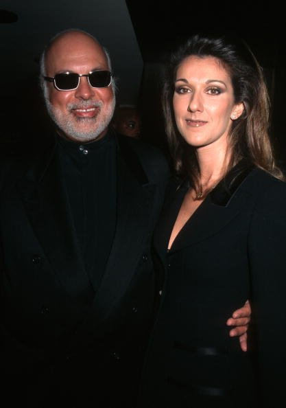 René Angelil et Céline Dion lors des Fashion & Beauty Awards du magazine Marie Claire à l'hôtel Four Seasons de New York, New York, États-Unis. | Photo : Getty Images
