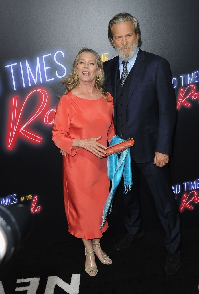 "Actor Jeff Bridges and wife Susan at for the Premiere Of 20th Century FOX's ""Bad Times At The El Royale"" held at TCL Chinese Theatre on September 22, 2018 