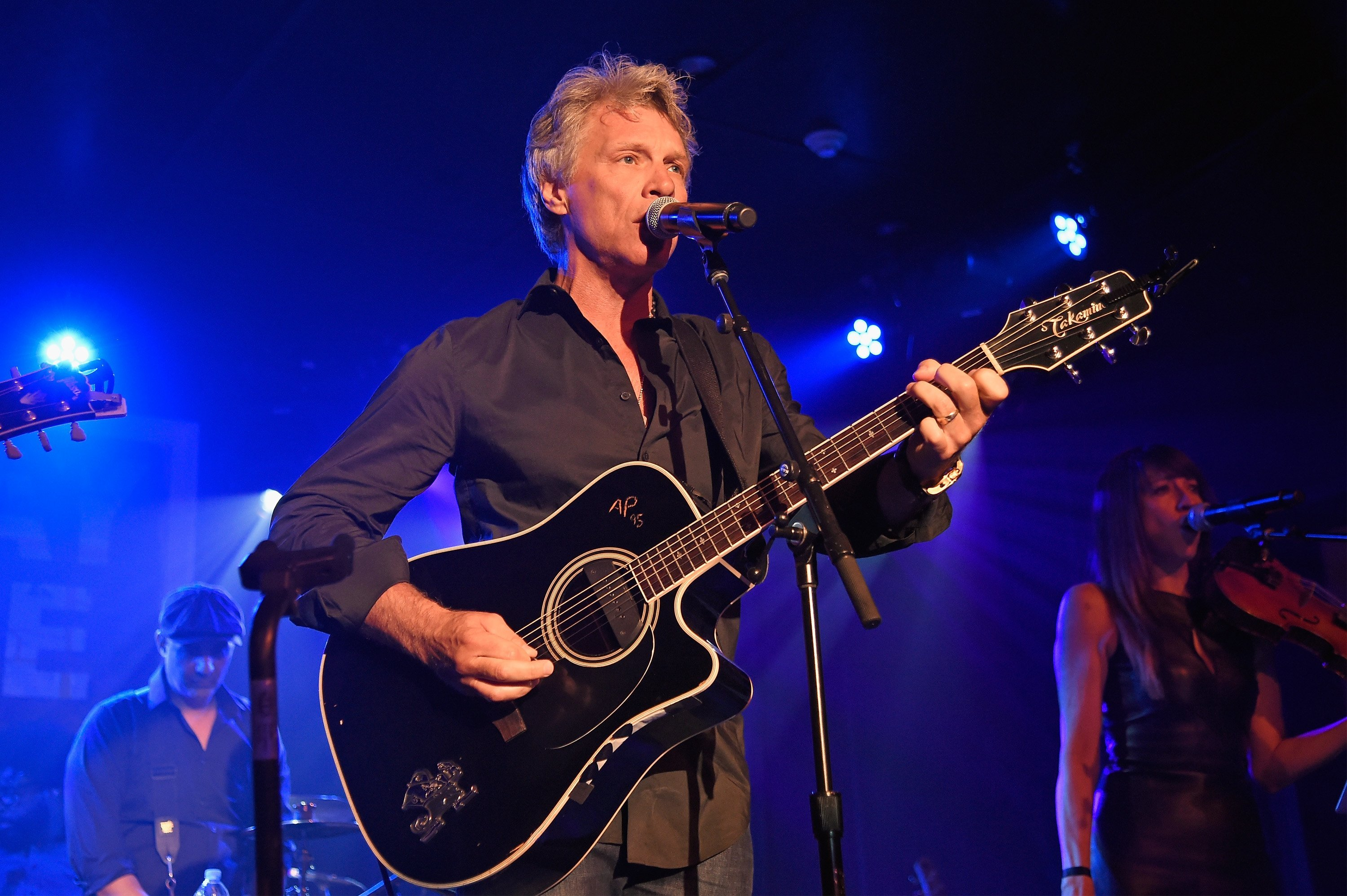 Jon Bon Jovi performing onstage during Apollo in the Hamptons 2018. | Source: Getty Images