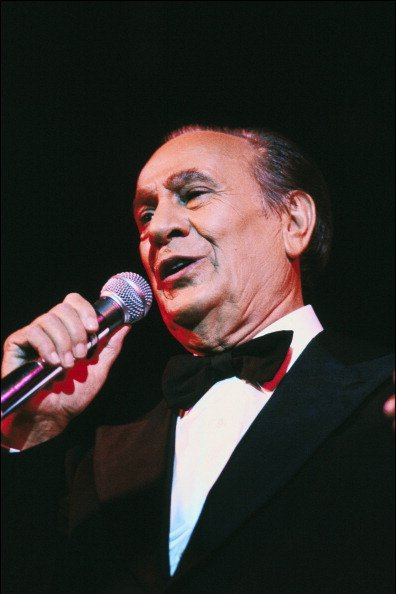 Soirée Tino Rossi à Paris, France, le 10 novembre 1982 - Tino Rossi. | Photo : Getty Images