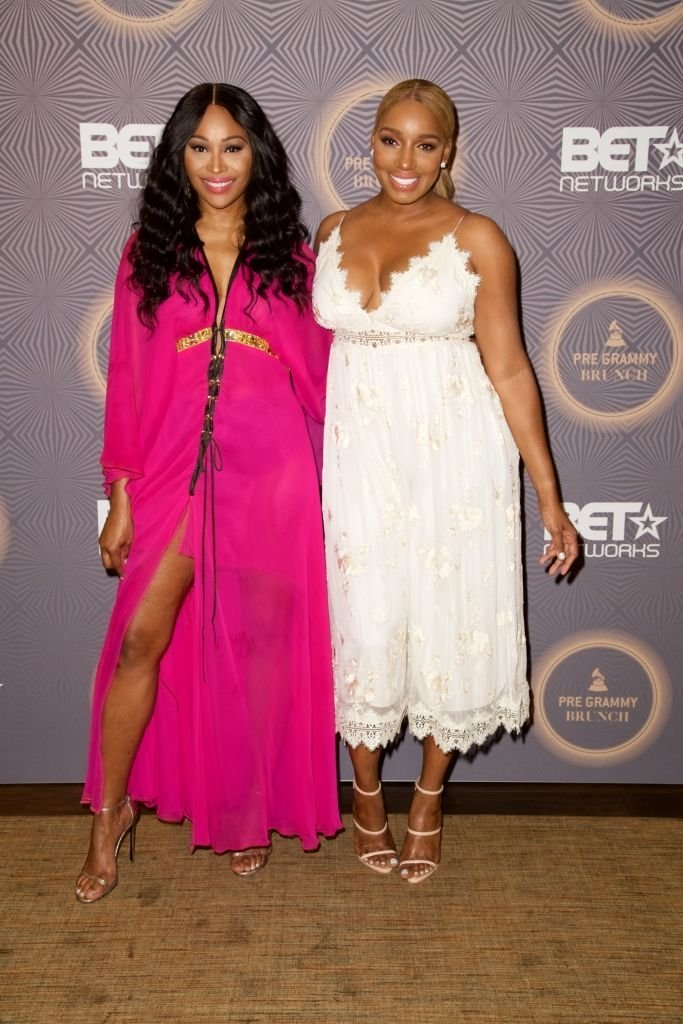 Cynthia Bailey and NeNe Leakes at BET's Pre-Grammy Brunch in February 2017. | Photo: Getty Images