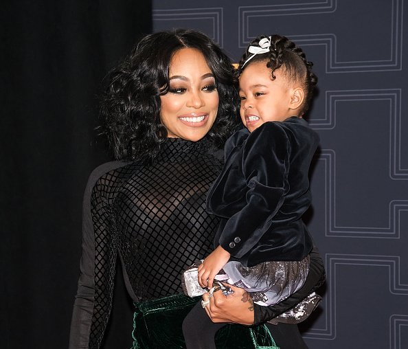 Monica and her daughter Laiyah Shannon Brown at BET Black Girls Rock! 2016 on April 1, 2016 | Photo: Getty Images