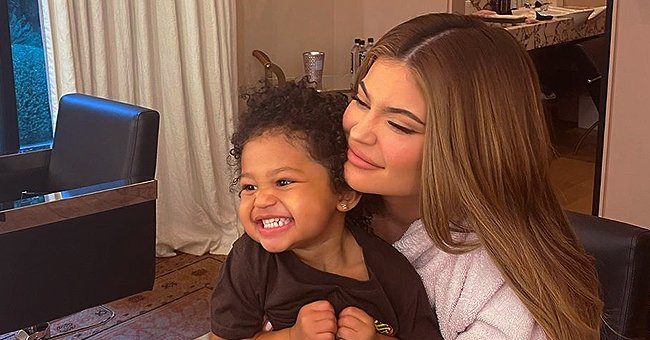 Kylie Jenner's Daughter Stormi Takes Part in Candy Challenge in a Cute Video
