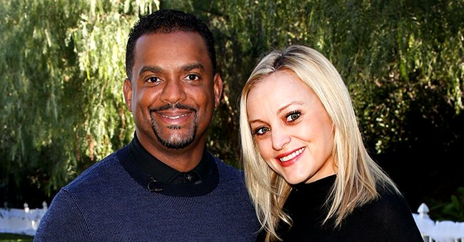 Alfonso Ribeiro's Baby Daughter Ava Enjoys a Day Out in the Sun in an Adorable Blue Outfit