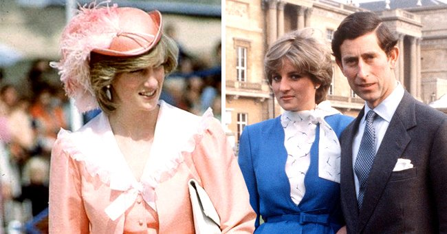 Inside Princess Diana's Iconic Peach Honeymoon Outfit and All-Blue Engagement Ensemble