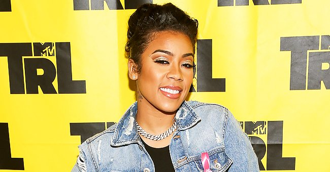 Keyshia Cole's Son Enjoys Big Brother Duty as He Sets Aside Games on Phone to Hold His Sibling