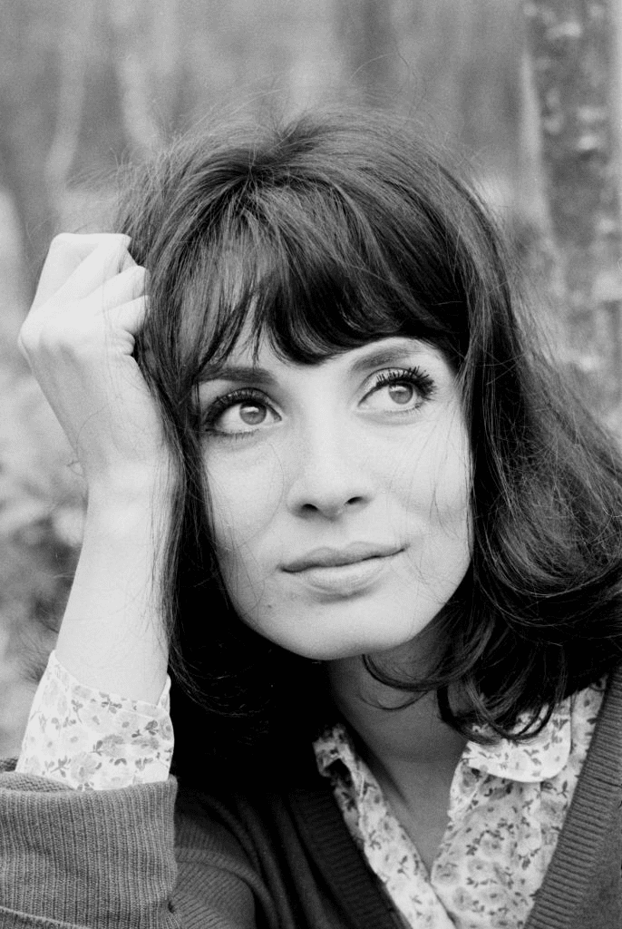 L'actrice française Karen Blanguernon à Paris le 15 avril 1964, France. | Photo : Getty Images