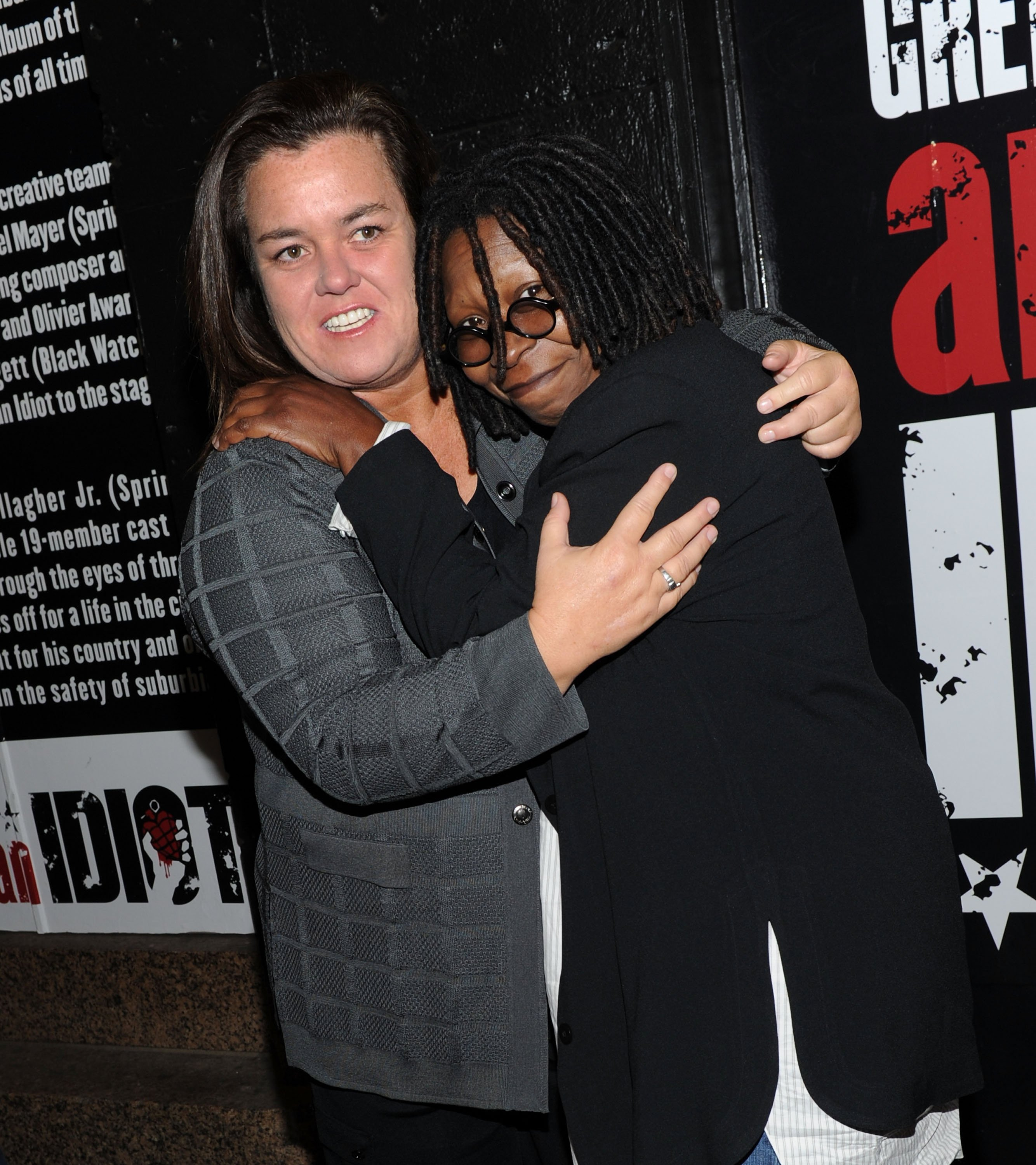 "Rosie O'Donnell and Whoopi Goldberg once co-hosted ""The View"" together 