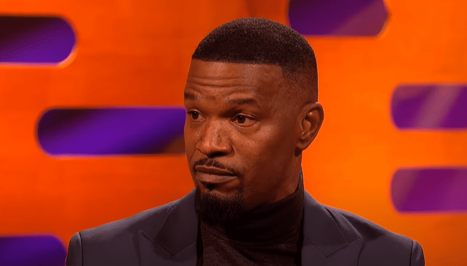 A picture of Jamie Foxx at The Graham Norton Show. | Photo: Youtube/ BBCAmerica