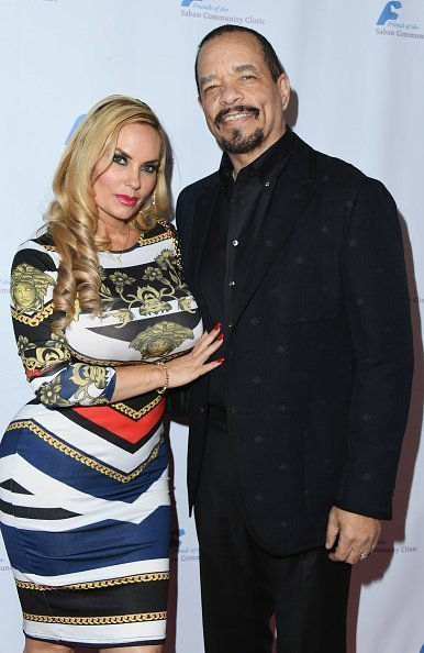 Coco Austin and Ice-T at The Beverly Hilton Hotel on November 12, 2018 in Beverly Hills, California. | Photo: Getty Images