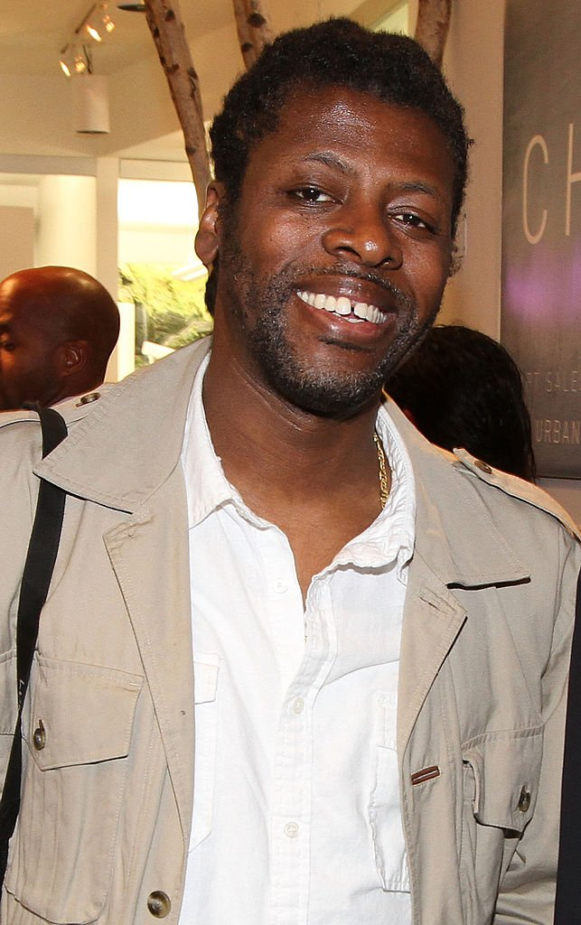 Chi Modu at his self-titled exhibition opening at Smile Gallery on March 29, 2012 in New York City.   Photo: Getty Images
