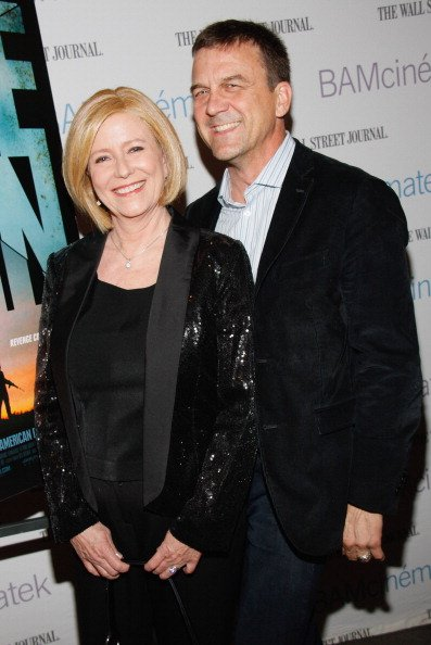 Eve Plumb and her husband Ken Pace at the New York Premiere of RADiUS-TWC's BLUE RUIN on April 22, 2014 | Photo: Getty Images