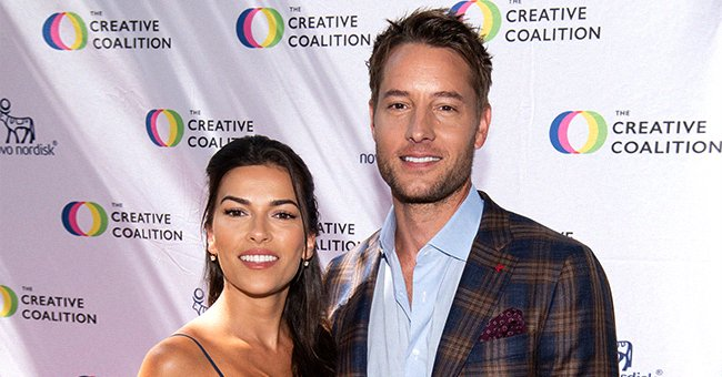 Justin Hartley and Sofia Pernas at the Creative Coalition's Seventh Annual Television Humanitarian Awards in LA, 2021 | Photo: Getty Images