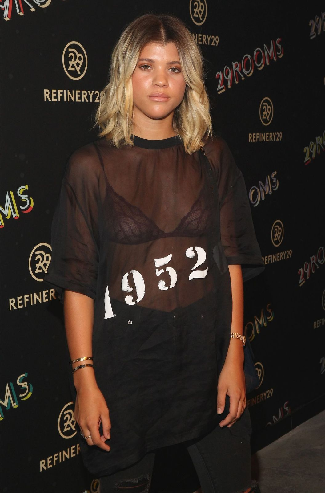 """Sofia Richie at Refinery29's Second Annual New York Fashion Week Event, """"29Rooms"""" on September 8, 2016   Photo: Getty Images"""
