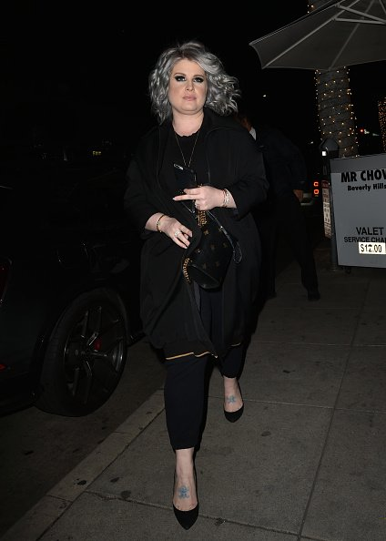 Kelly Osbourne on February 22, 2019 in Los Angeles, California.   Photo: Getty Images