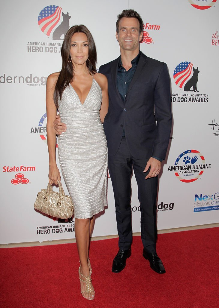 Cameron Mathis and Vanessa Arevalo attend the 5th Annual Hero Dog Awards in Beverly Hills, California on September 19, 2015 | Photo: Getty Images