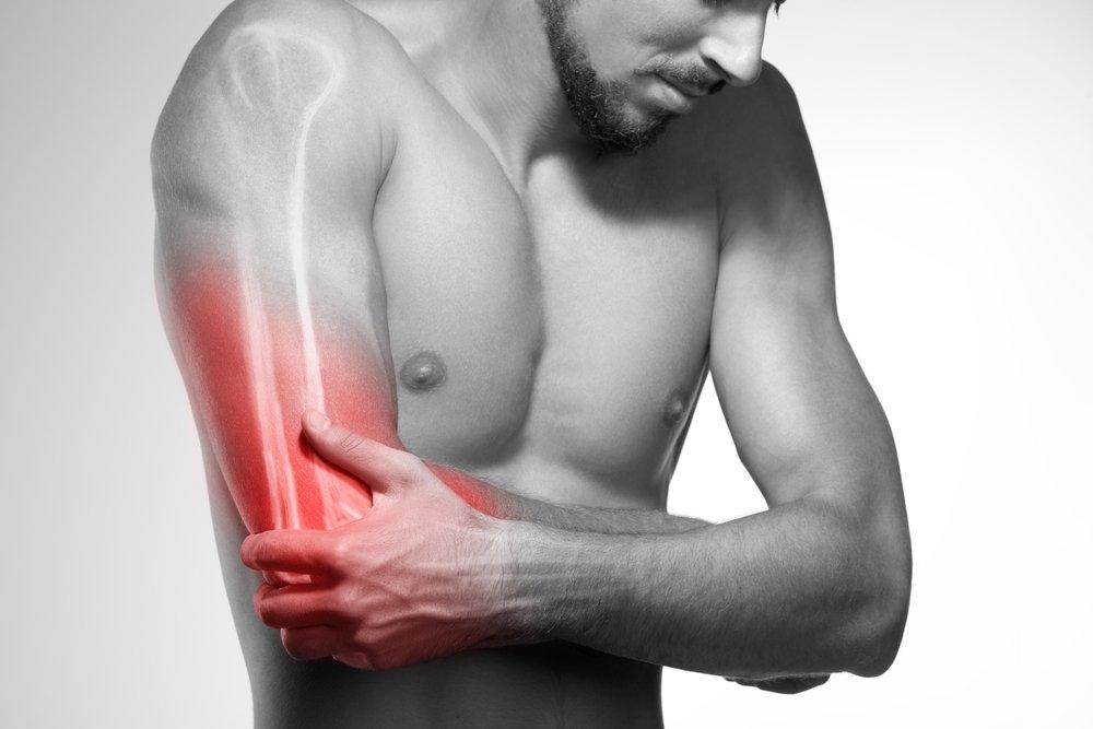 Un homme qui souffre.   Photo : Shutterstock