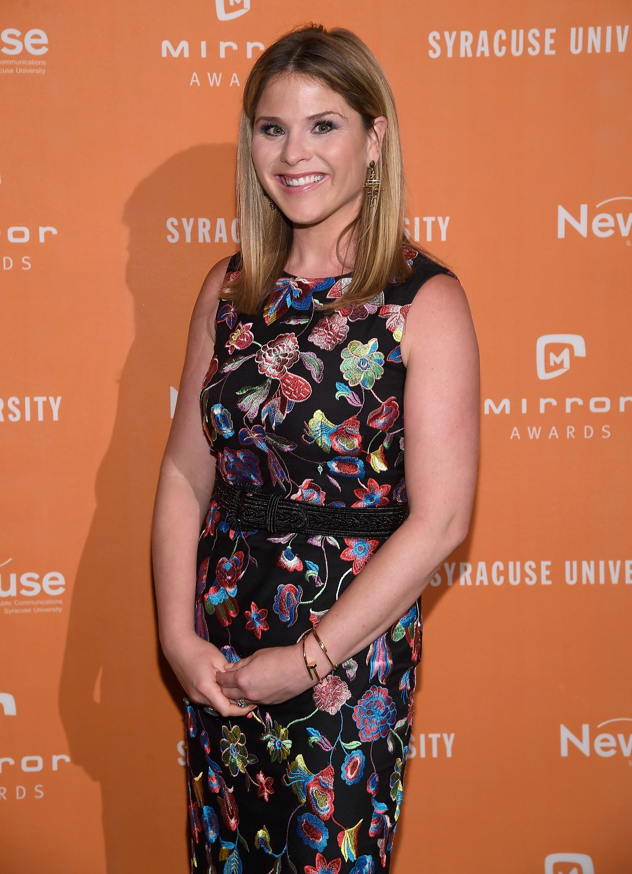 Jenna Bush Hager attends the Mirror Awards in New York City on June 13, 2017 | Photo: Getty Images
