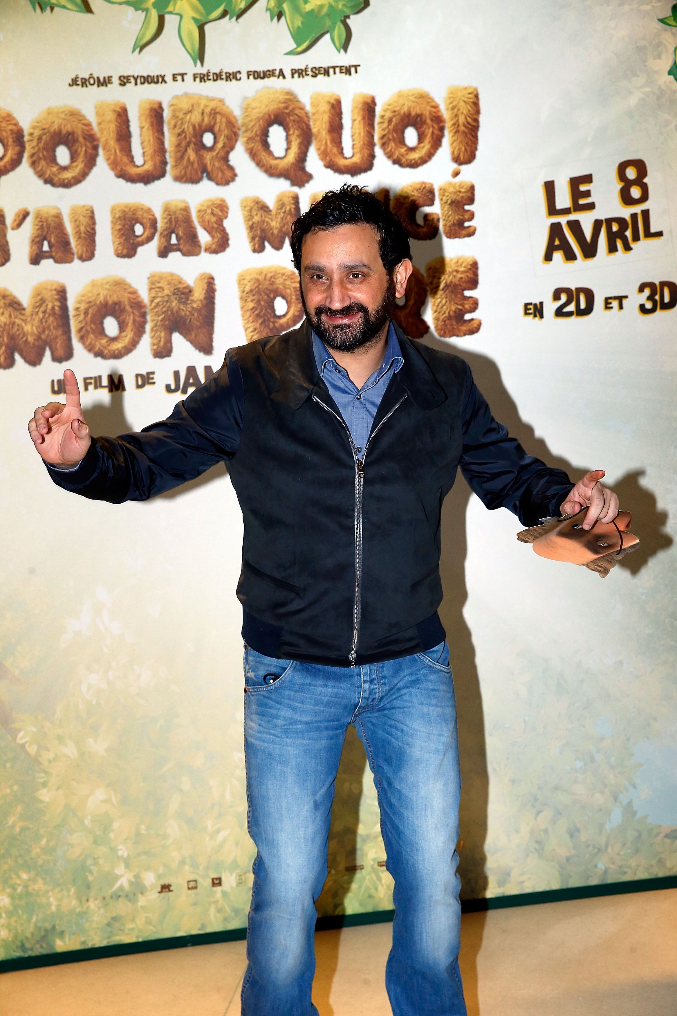Cyril Hanouna à Pathe Beaugrenelle le 29 mars 2015 à Paris, France. | Photo : Getty Images