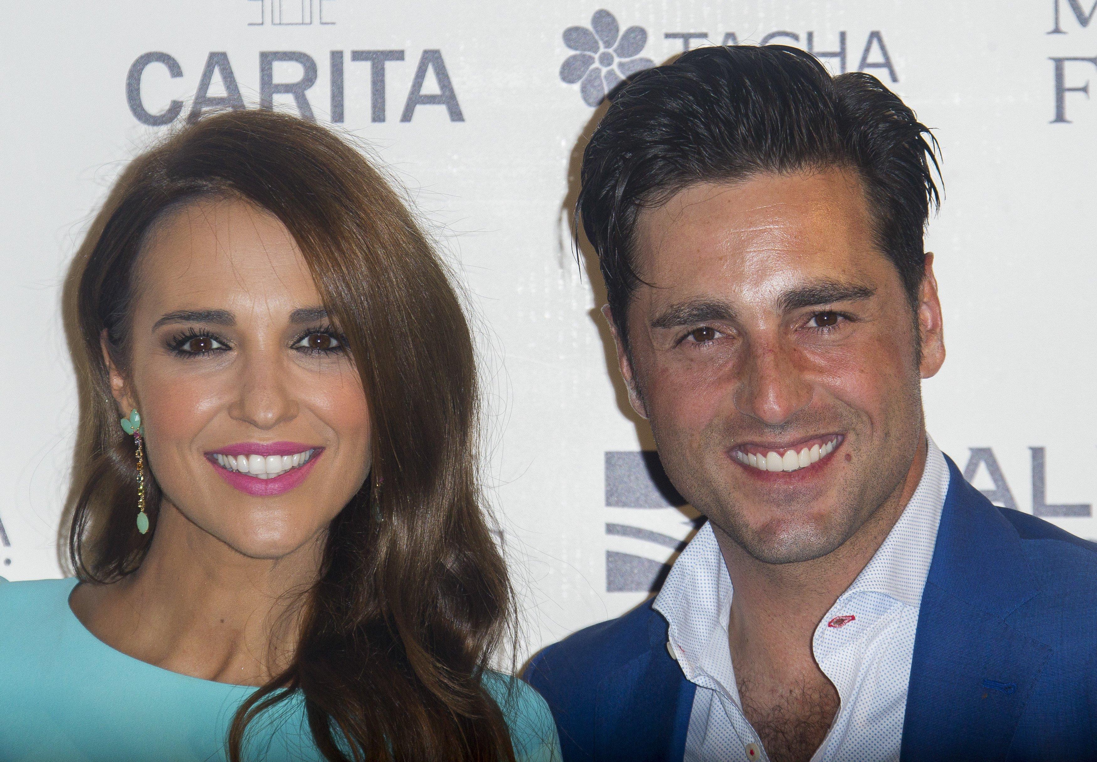 Paula Echevarría y David Bustamante asisten al Fashion Show de Jorge Vázquez en la residencia del embajador de Francia, el 22 de septiembre de 2015, en Madrid, España || Fuente: Getty Images