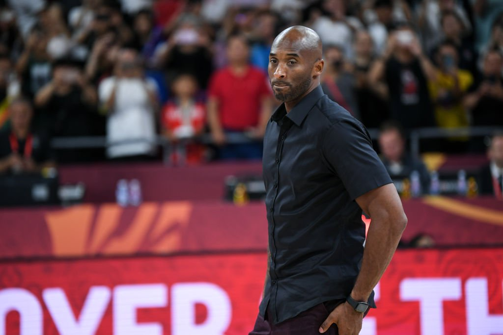 Kobe Bryant attended the ceremony during the final of 2019 FIBA World Cup match between Argentina and Spain at Beijing Wukesong Sport Arena | Photo: Getty Images