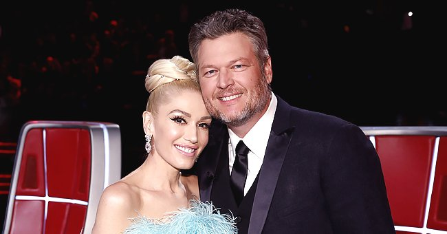 Blake Shelton Gets Mullet Haircut from Girlfriend Gwen Stefani during Jimmy Fallon's Show