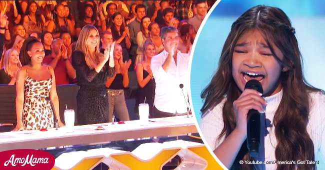 Une jeune fille a époustouflé tout le monde avec sa performance et obtient le tout premier double 'Golden Buzzer'