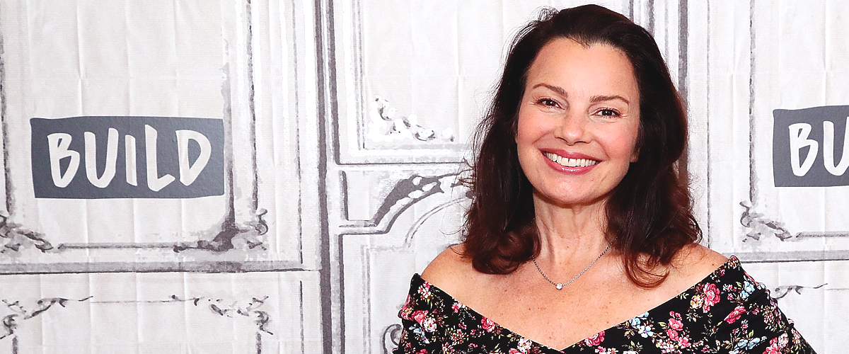 Fran Drescher Celebrates Her Father's 90th Birthday in a Photo with an Ice Cream Cake