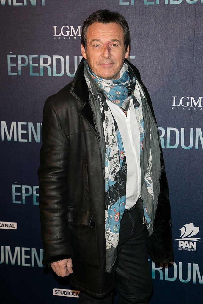 Jean-Luc Reichmann le 29 février 2016 à Paris. l Source : Getty Images