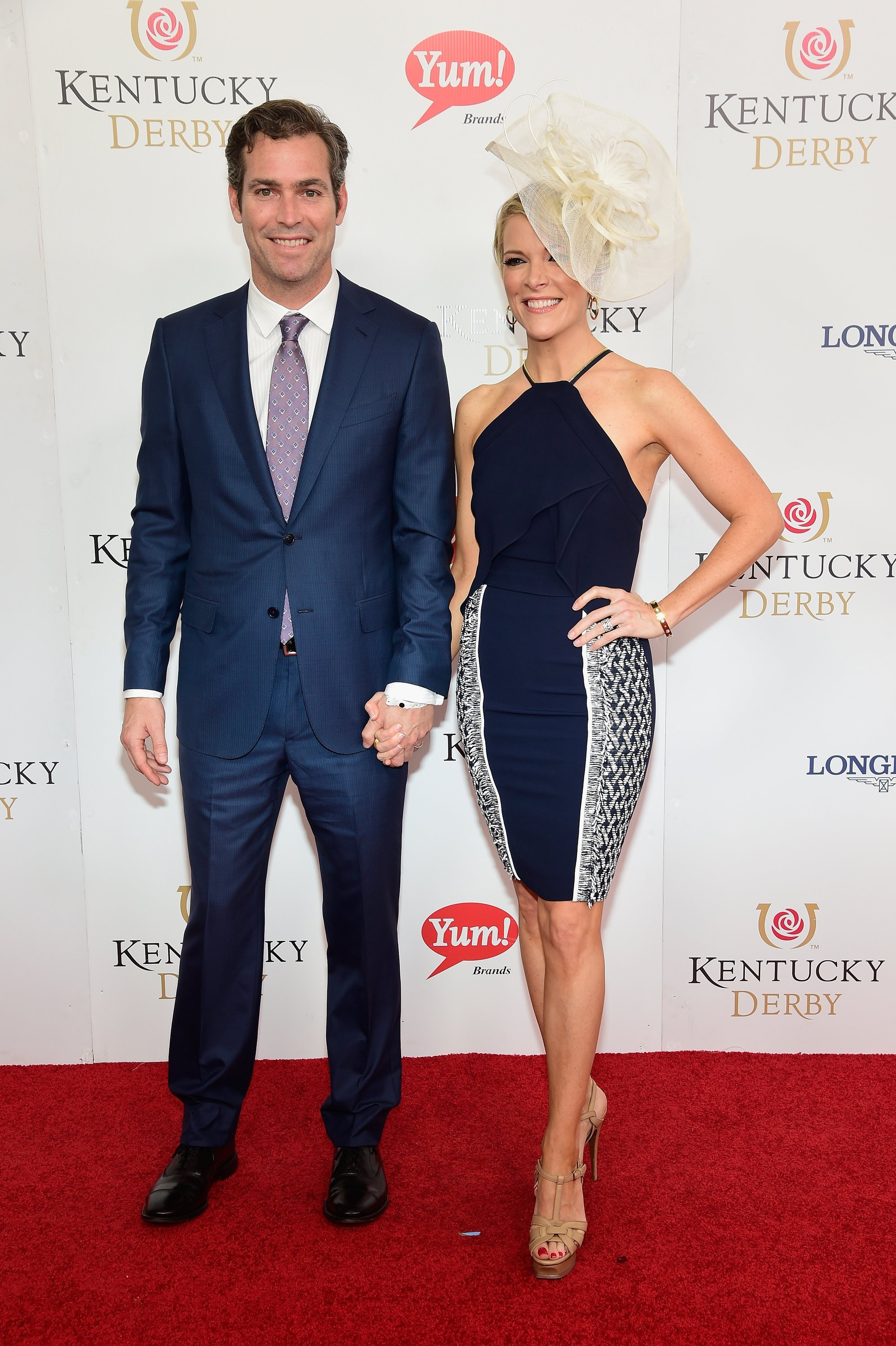 Douglas Brunt (L) and Fox News reporter Megyn Kelly attend the 142nd Kentucky Derby at Churchill Downs on May 07, 2016, in Louisville, Kentucky. | Source: Getty Images.