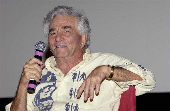 Peter Falk on October 3, 2005, in Hollywood, California. | Source: Getty Images.