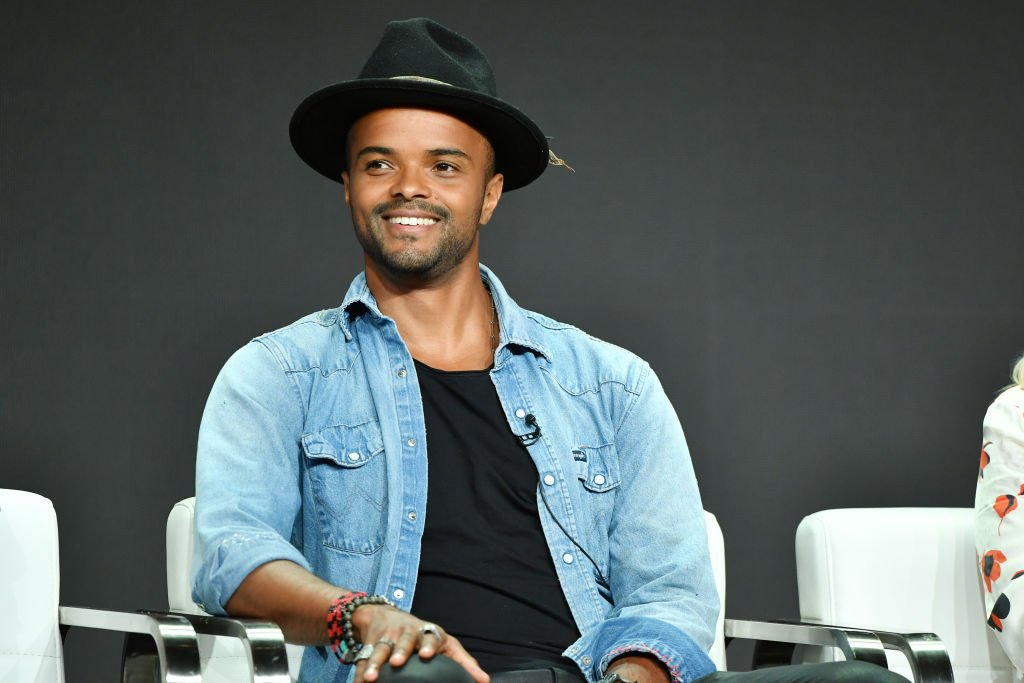 """Eka Darville of """"Tell Me A Story"""" speaks during the CBS segment of the 2019 Summer TCA Press Tour at The Beverly Hilton Hotel on August 1, 2019.   Photo: Getty Images"""