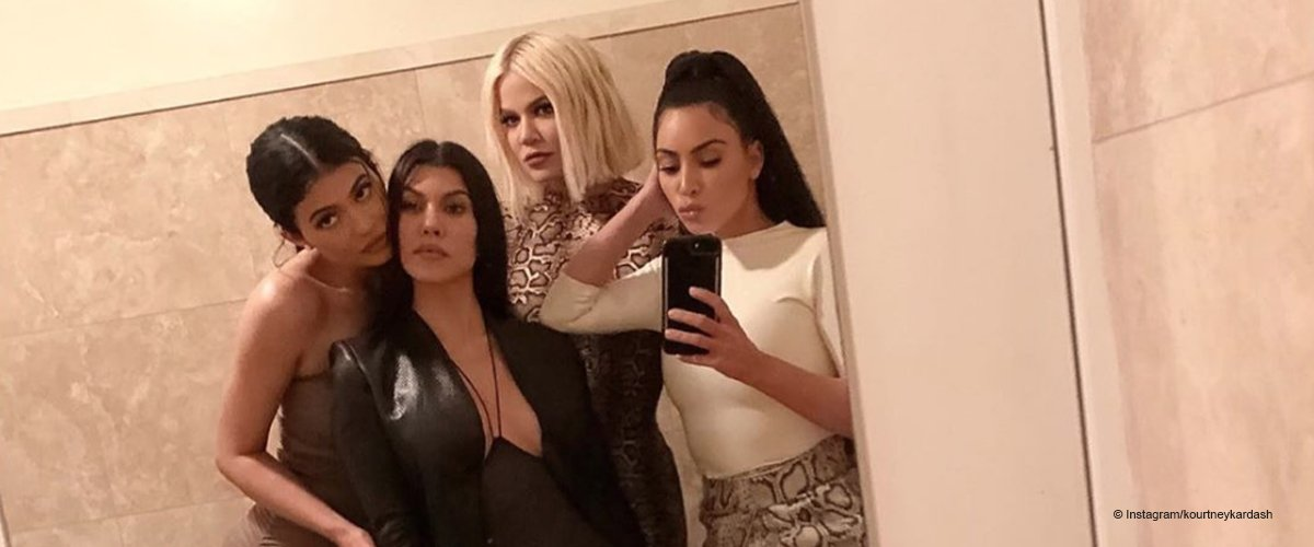 Kardashian Sisters Mocked by Eagle-Eyed Fans for Posting 'Dirty' Bathroom Selfie