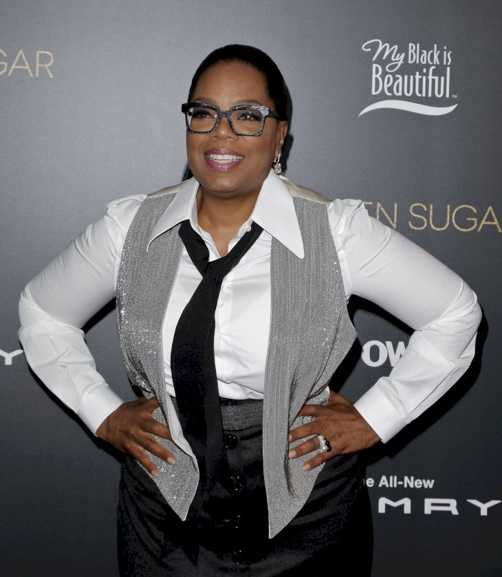 "Oprah at  ""Queen Sugar"" hosted by OWN at Laduree Soho on May 20, 2018 