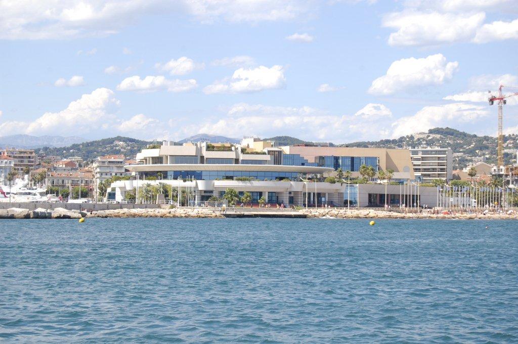 Le Palais des festivals de Cannes. l Source: Wikimedia Commons